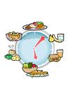 Bild Nahrung per Tageszeit