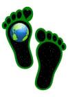 Bild ökologischer Fußabdruck