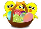 Bild Osterkörbchen