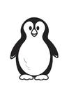 Malvorlage  Pinguin