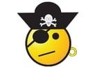 Bild Piratensmiley