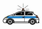 Bild Polizeiauto