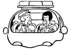 Malvorlage  Polizistinnen