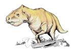 Bild Prenoceratops DInosaurier