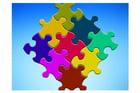Bild Puzzleteile