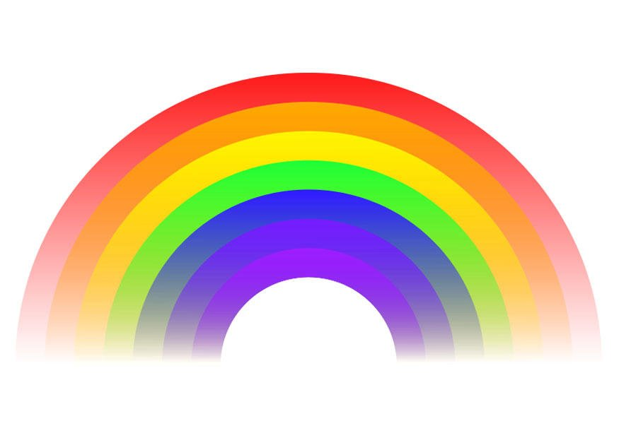 regenbogen bilder kostenlos ausdrucken  kinder ausmalbilder
