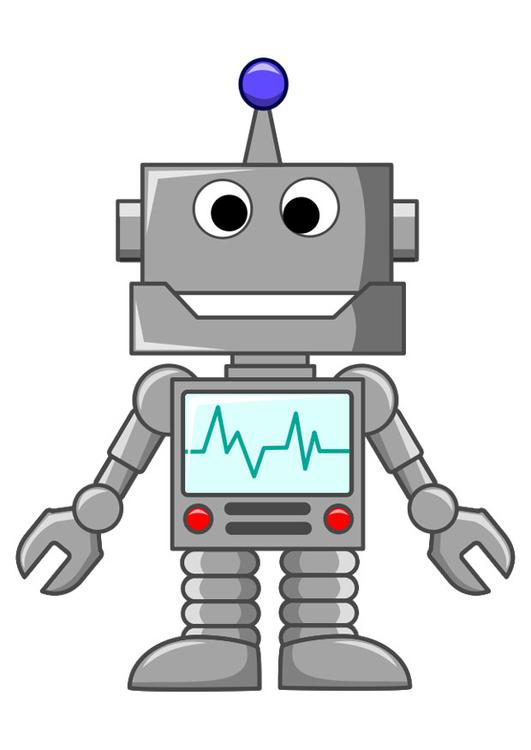 bild roboter  kostenlose bilder zum ausdrucken  bild 27198