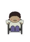 Bild Rollstuhlfahrer