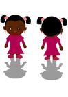 Bild schwarzes Mädchen
