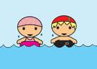 Bild Schwimmen