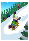 Bild Spass im Schnee