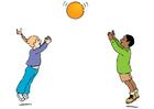 Bild Spielen mit dem Ball