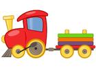 Bild Spielzeugeisenbahn