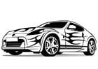 Malvorlage  Sportauto