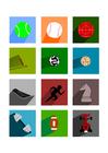 Bild Sportsymbole