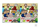 Bild Such die Unterschiede - Torte backen