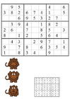 Bild Sudoku - Affen