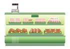 Bild Supermarkt - Fleischtheke