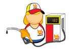 Bild Tankstellenangestellter