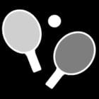 Malvorlage  Tischtennis