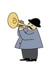 Bild Trompeter