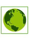 Bild umweltfreundliche Erde