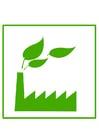 Bild umweltfreundliche Fabrik