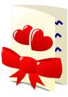 Bild Valentinskarte