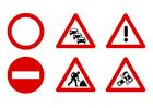 Bild Verkehrszeichen