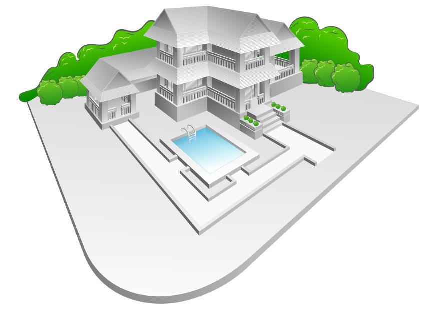 Bild Villa Mit Schwimmbad Abb 27590
