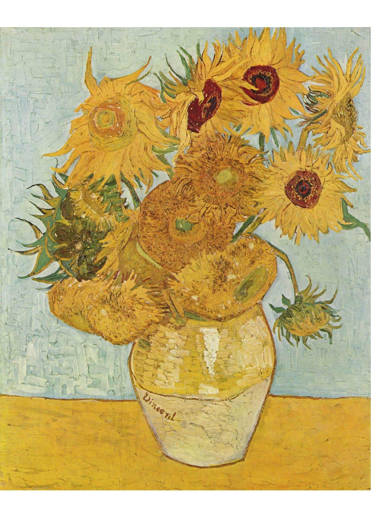 Bild Vincent van Gogh - Sonnenblumen - Abb. 17055