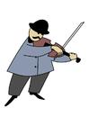 Bild Violinist