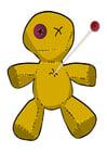 Bild Voodoo Puppe