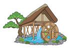 Bild Wasserrad