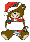Bild Weihnachtsbär