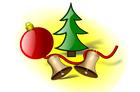 Bild Weihnachtsdekoration
