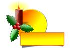 Bild Weihnachtskerze
