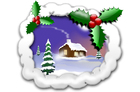 Bild Weihnachtsszene