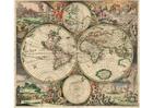 Bild Weltkarte 1689