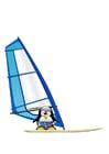 Bild Windsurfing