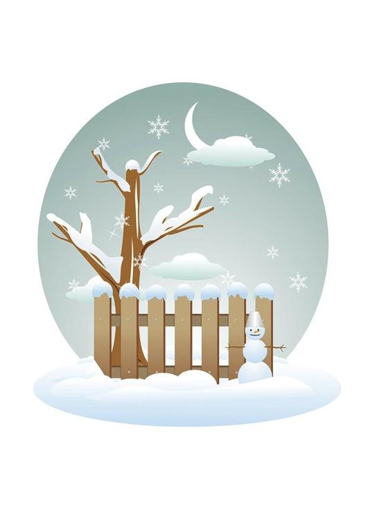 bild winter  kostenlose bilder zum ausdrucken  bild 28961