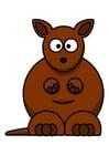 Bild z1-Känguruh
