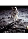 Foto Astronaut auf dem Mond