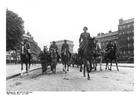 Foto Aufmarsch deutcher Truppen in Paris