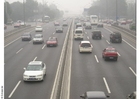 Foto Autobahn - Smog in Peking