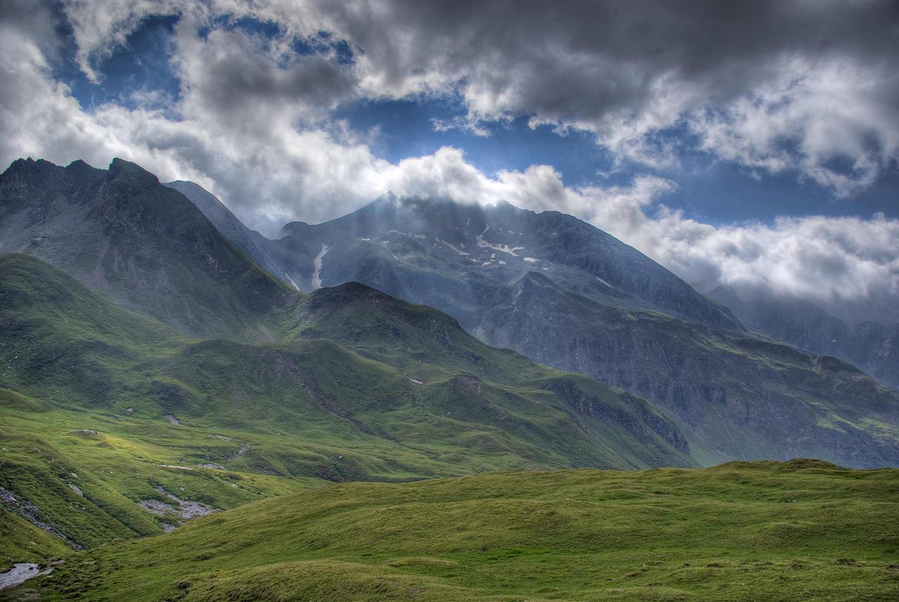 Foto Berge und Wolken | Abb. 17043.