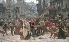 Foto Brandschatzung in Visby durch Valdemar Atterdag, 1361