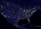 Foto die Erde bei Nacht - Stadtgebiete Nordamerika