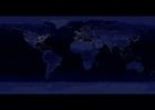 Foto die Erde bei Nacht - Stadtgebiete