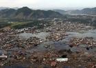 Foto Dorf nach Tsunami